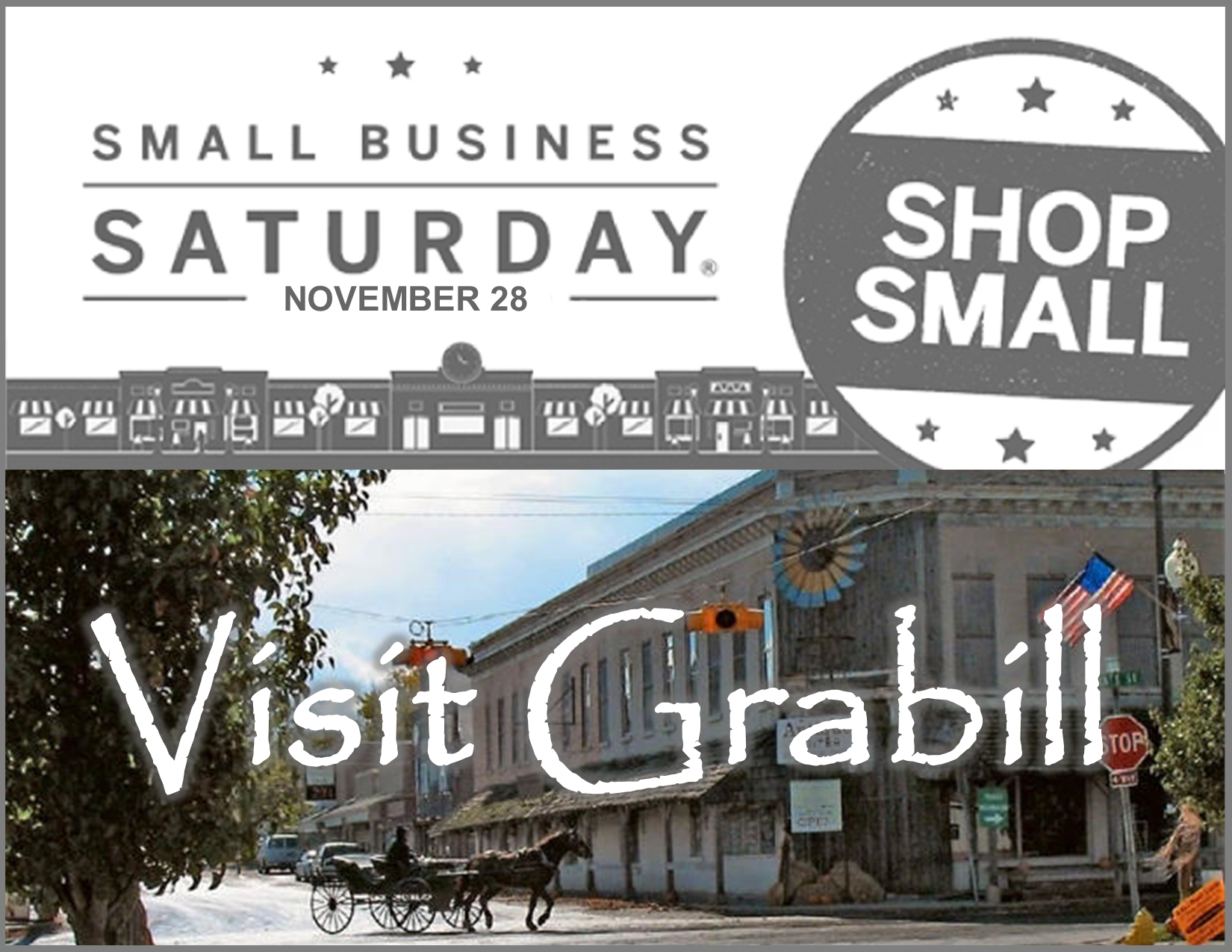 Shop Small Business Saturday Grabill Indiana