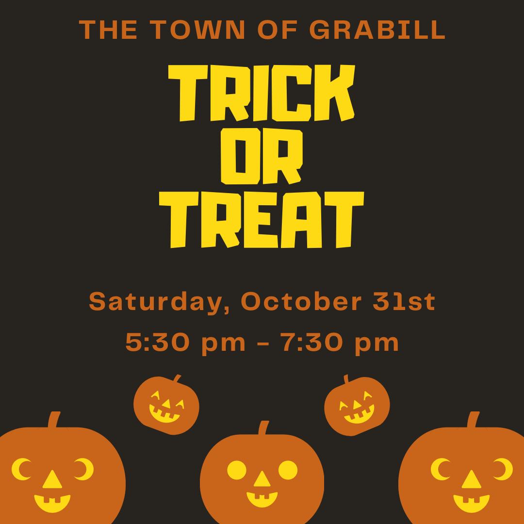 Grabill Trick or Treat